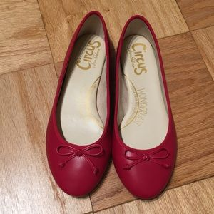 Circus by Sam Edelman red leather ballet flats 7